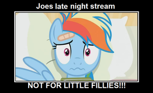 Joes late night stream by SuperSmashFan05