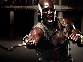 Spartacus-Doctore Oenomaus by kingwicked