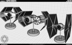 Tie Fighters WIP by cosedimarco