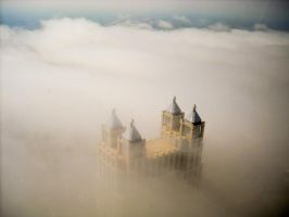 castle in the clouds by sumsinnow