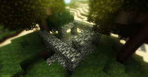 Minecraft $2 - The temple ruin by x4ct1on