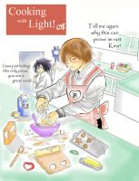 Cooking with light- Death Note by Mishiko-Saku-Chan