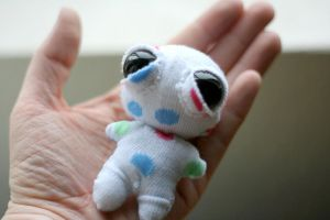Spotted Baby Slouchy by cleody