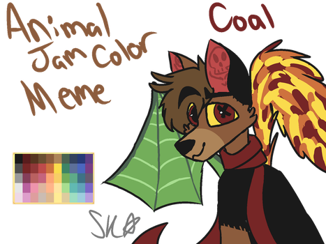 Animal Jam Color Meme by SneekyKidd