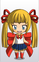 Almost Sailor Moon Chibi by Amber-Duncan