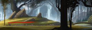 The Banner Saga - Art Test by anez-erynlis