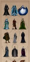 The Silmarillion: The Valar 2015 by wolfanita