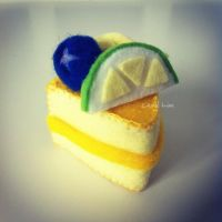 Lemon Felt Cake by bibiluv