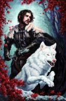 Jon Snow by Michael-C-Hayes
