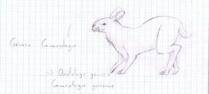 The giant rabbit of the gomera island by Clawfiren
