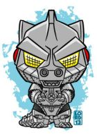 Mechagodzilla!!! by lordmesa