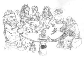 OLD SKOOL 1: The Poker Game by chronentity