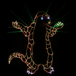 laser Pangolin (Gift For the company Pangolin) by LaserPon3