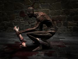 Ghoul game character render 1 by SolidAlexei