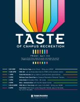 Taste of Campus Recreation by mossawi