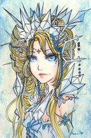 Ice Queen by illustica