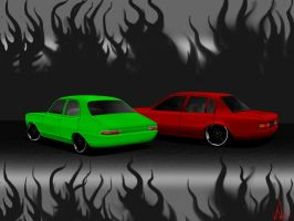 vh holden and torana toon by vnsupreme