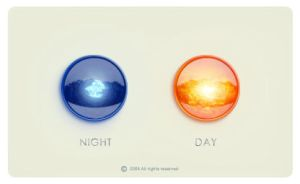 Day and night icons by tvor-graphic
