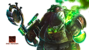 Pudge The Plague Doctor Set Render by D-GodKnows