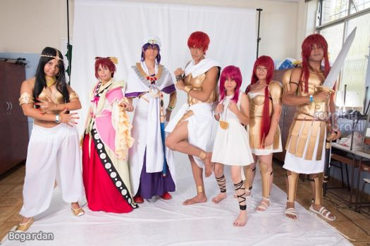 Magi: The Labyrinth of Magic by DayaneReis