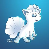 Vulpix Request by LucarioOcarina
