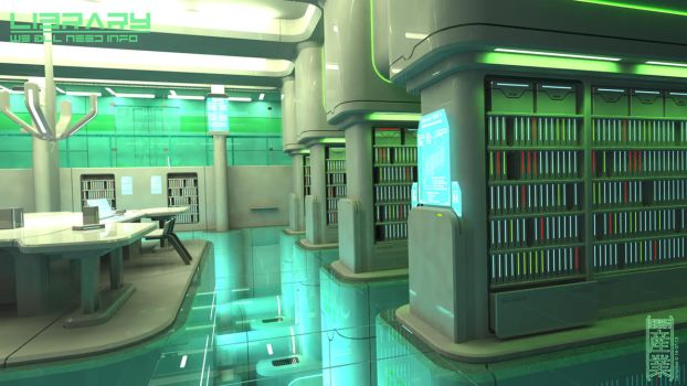 Library by Cementiet
