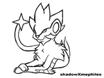 luxray template by shadowxmephiles
