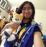 I bought Tails plushie from last Wednesday by Magic-Kristina-KW