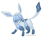 Pixel Glaceon VIDEO by Psunna