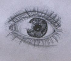 Eye Sketch by RustyCroutons