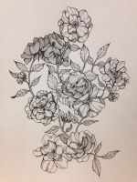 bloom wild roses by fireala7