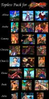 SFxT Mod - Topless Pack by Segadordelinks