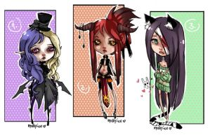MALE chibi adoptables-02: CLOSED by Mostlynice