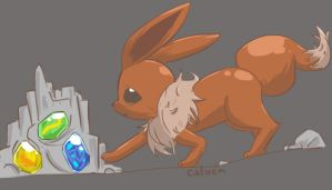 Pokedex Challenge: Normal Eevee by jakks004