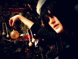 Sasuke - Decorating the tree by UnisonCosplayers