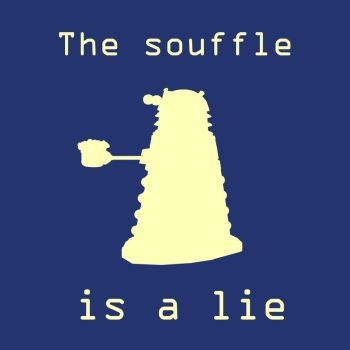 The souffle is a lie by Alelwing
