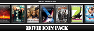 Movie Icon Pack 17 by FirstLine1