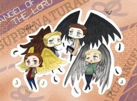 SPN ~ Angels of the Lord by Reikiwie