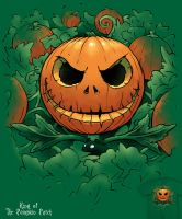 King of the Pumpkin Patch - tee by InfinityWave