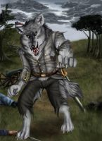 Civil War Werewolf 3 by arania