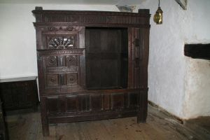 Elizabethan Box Bed by witchfinder-stock