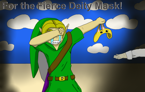 For the Fierce Deity Mask by RandomPerson1310