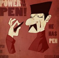 I HAVE PEN by charle88