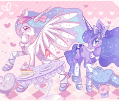 Welcome to our Tea Party~! by Ipun