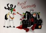 Trafalgar Law wishes you a Merry Christmas by Evanyia