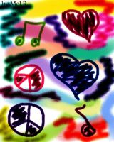 Peace Love Music by CrazyCousins