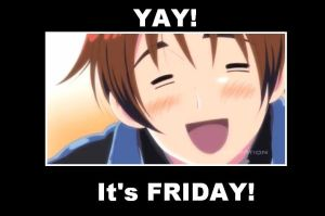 Hetalia (meme) : YAY it's friday!! by Awesome-Burger-Eater