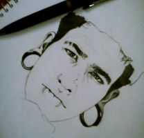 Art in Progress : T. Mills by LadySayuri