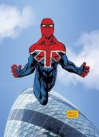 Spiderman UK by mdavidct
