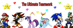 The Ultimate Teamwork Logo thingie by VGFanatic23